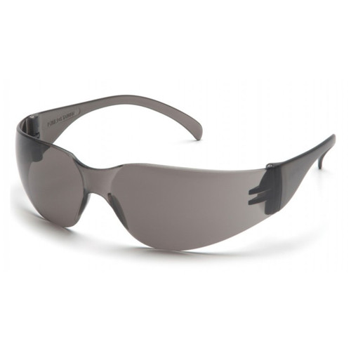 Pyramex Intruder Safety Glasses Gray w Gray HardcoatLens