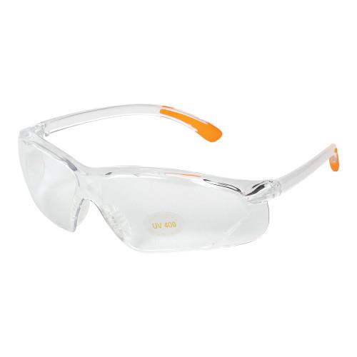 Allen Shooting Glass Clear W/orange