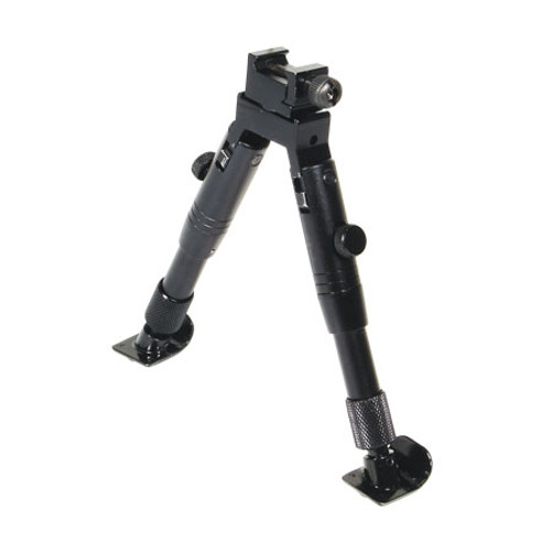 Leapers UTG Shooters SWAT Bipod RubberFeet 6.2-6.7in Cntr Ht