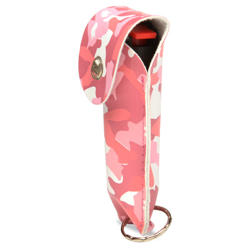 Tornado Pepr Spray Key Chain Pink