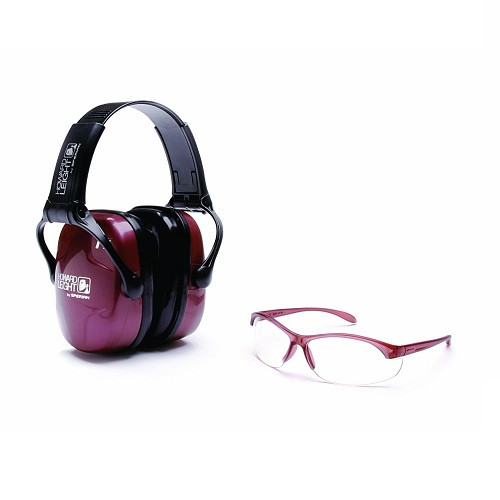Howard Leight Womens Shooting Safety Combo Eye and Ear Kit