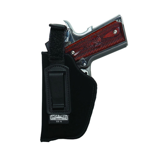 Uncle Mikes ITP Holster Size 16 RH w Ret Strap Black