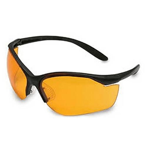 Howard Leight Vapor II Black Frame Orange Lens Anti-Fog