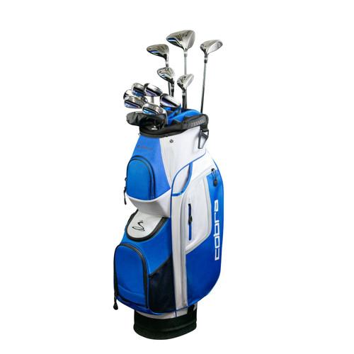 Cobra FLY-XL Complete Golf Set-Reg-LH-Cart Bag