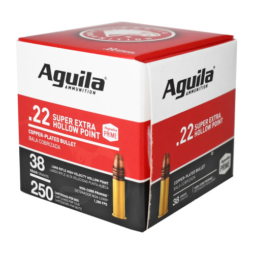 Aguila 22lr Hv Hp 38 Gr Pack