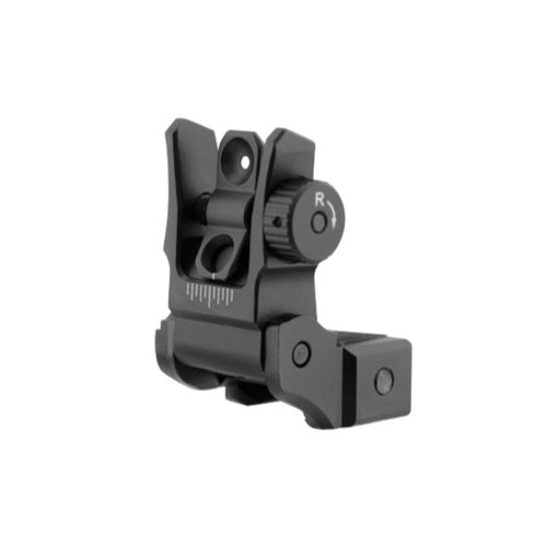 Leapers UTG AR15 Low Profile Flip-up Rear Sight w Dual Aim