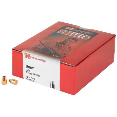 Hrndy Hap 9mm .356 125gr 500ct