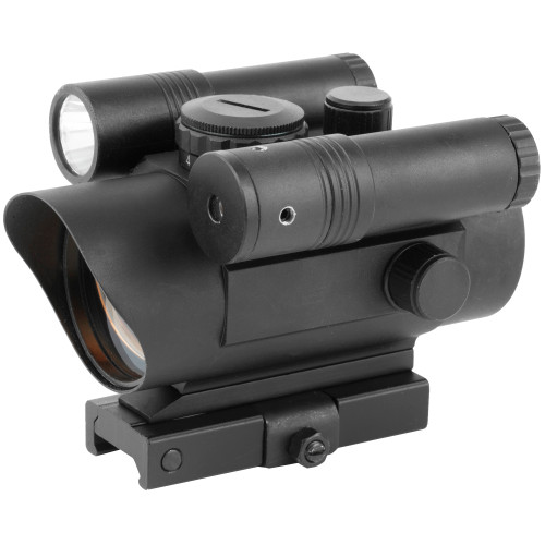 Ncstar Red Dot Sight Grn Lsr/light