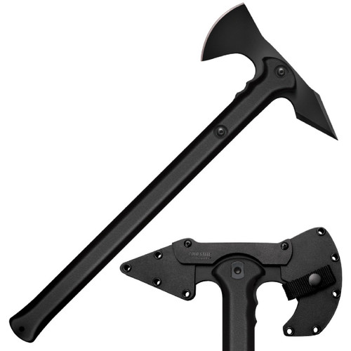 Cold Steel Trench Hawk Axe 8.75 in Head 19 in Overall Length