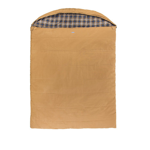 Kamp-Rite Overnighter 2 Person Sleeping Bag - Canvas