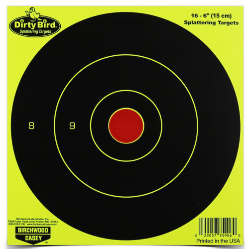 B/c Dirty Bird Yellow Rnd Tgt 16-6