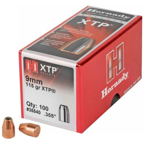 Hrndy Xtp 9mm .355 115gr 100ct