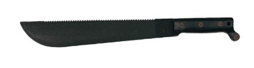 Ontario 1-18 Sawback Machete 18 in Blk Blade Polymer Handle