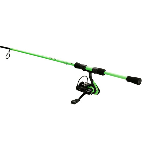 13 Fishing Code Neon 6 ft 7 in M Spinning Combo 2 pc