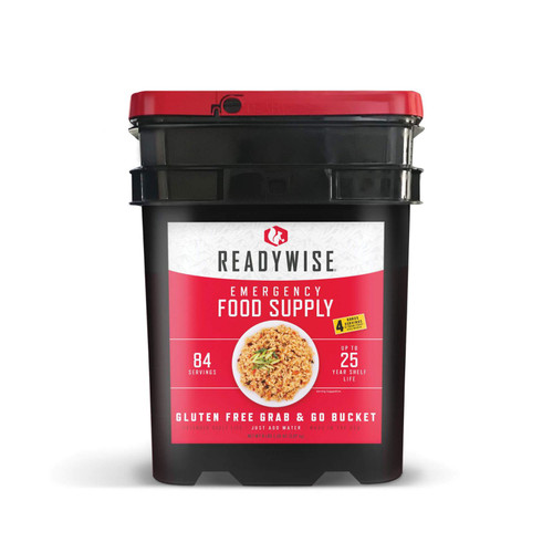 ReadyWise Breakfast Entree GrabGo Gluten Free Kit 84 Servgs