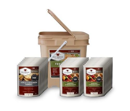 ReadyWise Breakfast/Entree Grab and Go Food Kit 84 Servings