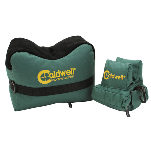 Caldwell DeadShot Boxed Combo Front and Rear Bag Filled
