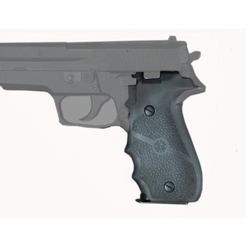 Hogue SIG Sauer P226 Rubber w Finger Grooves Black