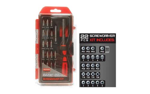 B/c Basic Screwdriver Set 22 Piece