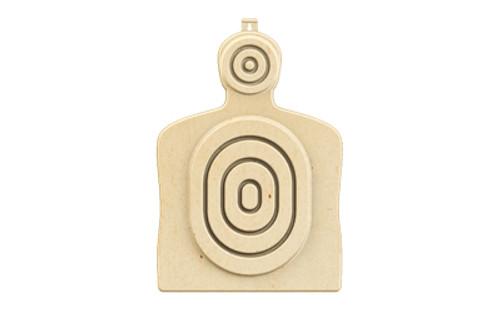 B/c 3d Bulls Eye Torso Target 3pk