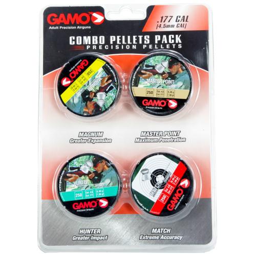 Gamo Combo Pack 1000 Assrtd .177 Pel