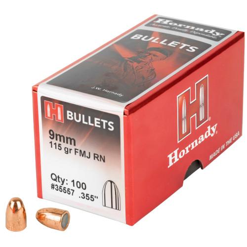 Hrndy Fmj-rn 9mm .355 115gr 100ct