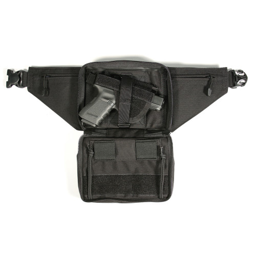 Bh Concel Wpn Fannypack Lg Blk