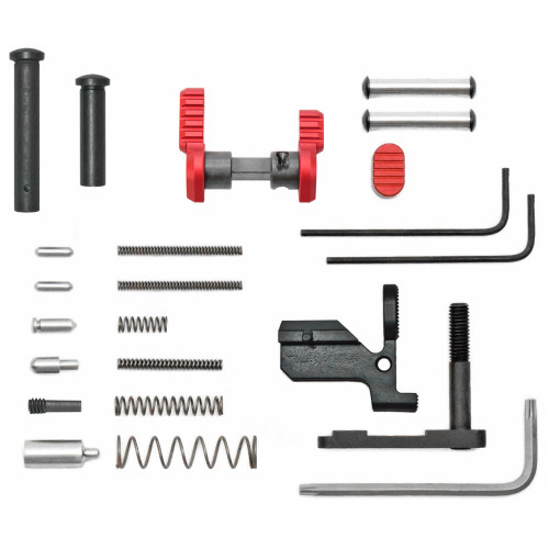 Armaspec Ar10 Gun Builders Kit Red