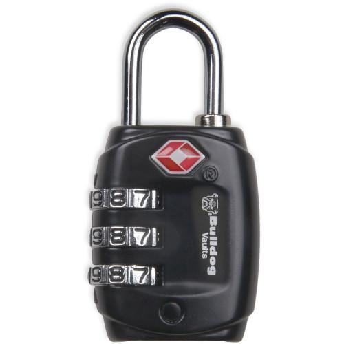 Bulldog Tsa Lock W/steel Shackle