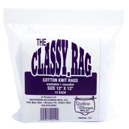 "Sthrn Blmr Cotton Rag 12x12"" 12/bag"