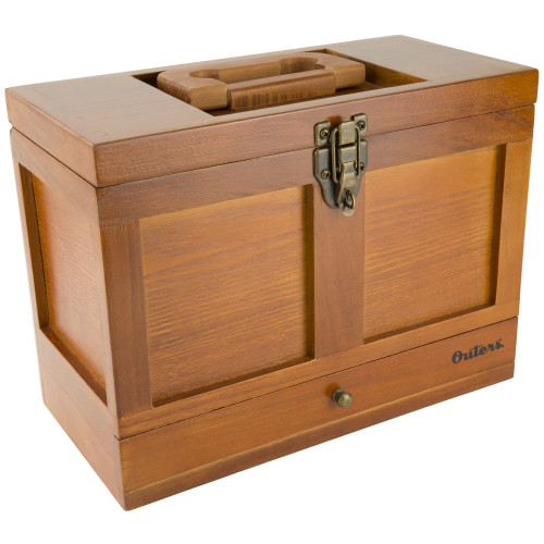 Outers 25pc Univ Clng Tool Box Wood