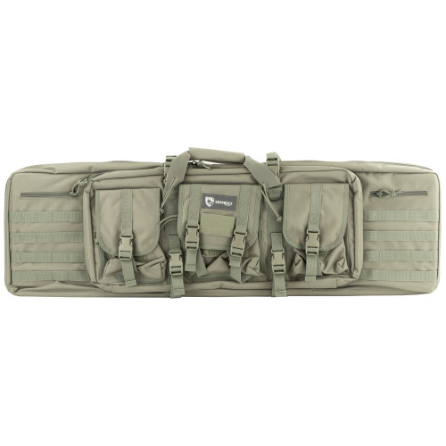 "Drago Gear 42"" Double Gun Case Gry"