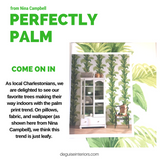  The Latest in Wallpaper Trends – Palm Print