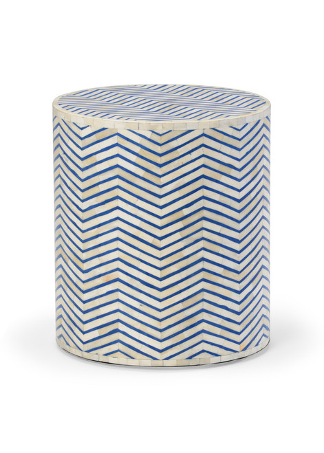 Lincoln Side Table - Blue