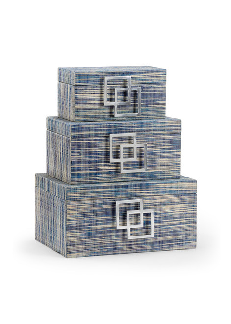 Waterfront Boxes (Set of 3)