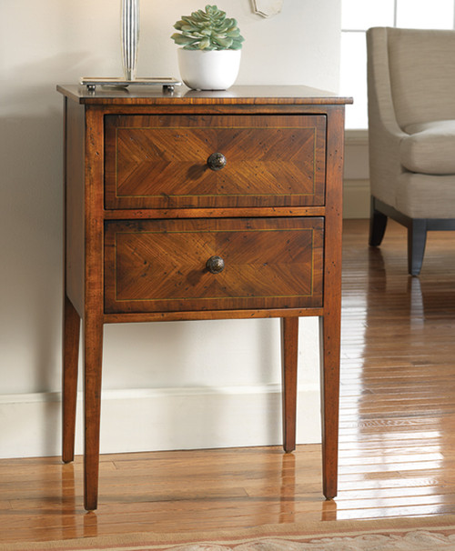Continental Two Drawer Stand