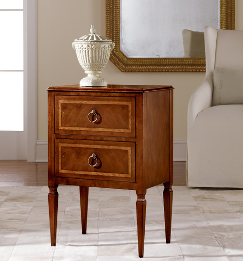 Small Two-Drawer Commode