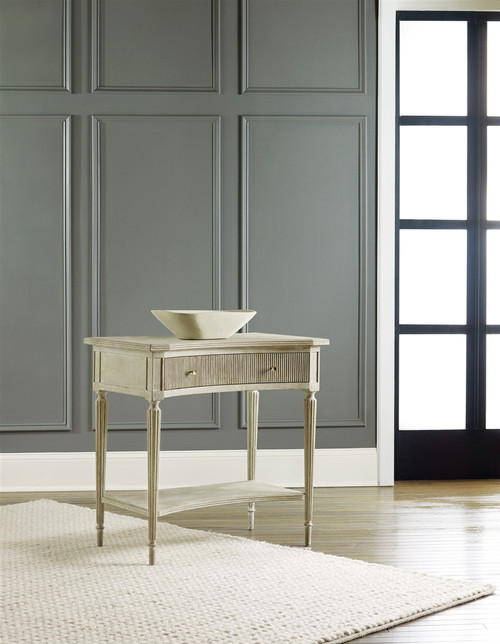 Ribbed Bedside Table - Deguise Interiors Charleston SC
