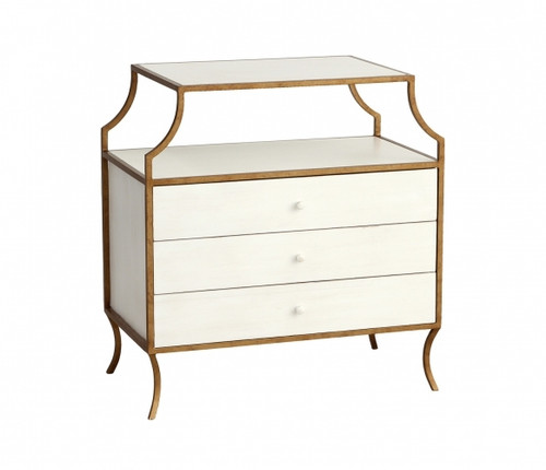 Milla Side Table with Drawers - Deguise Interiors Charleston SC