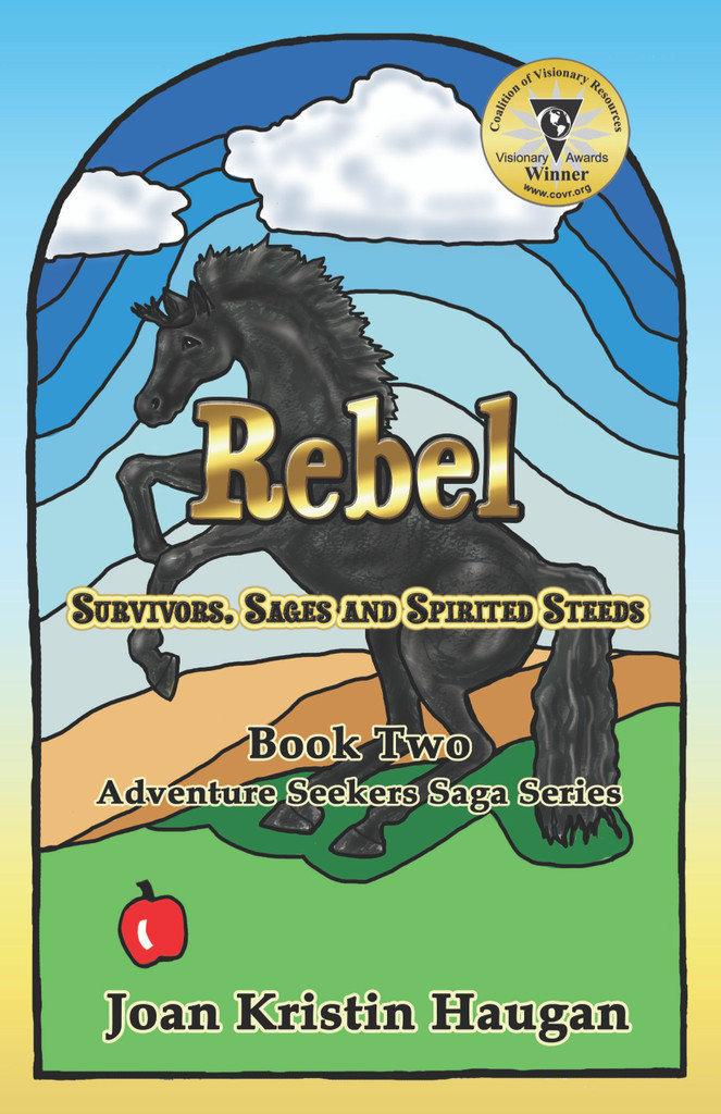 Saddle up for a rollicking ride as Rebel, the spirited steed, teaches us to boldly follow our own paths! Get to know Wolfgang Eichenberg as he endeavors to transform a rundown Wyoming ranch into a profitable family resort, with the help of a colorful crew of creative, enterprising friends. Visit the stunning Devils Tower monument and learn the Native American lore of this sacred monolith. Mystery and tension abound in this tale of self-discovery and spiritual transformation: Why is Patwin Good Elk acting so strangely? Will Mansi's and Grace's alternative healing save Blake's life? And how will best friends Tokada Good Elk and Victor Garcia lead their families through life's trials and tribulations to help them emerge victorious through faith, courage and belief in themselves and their dreams? Study Astrology signs and Rune stone messages. Muster the courage to become a rebel!