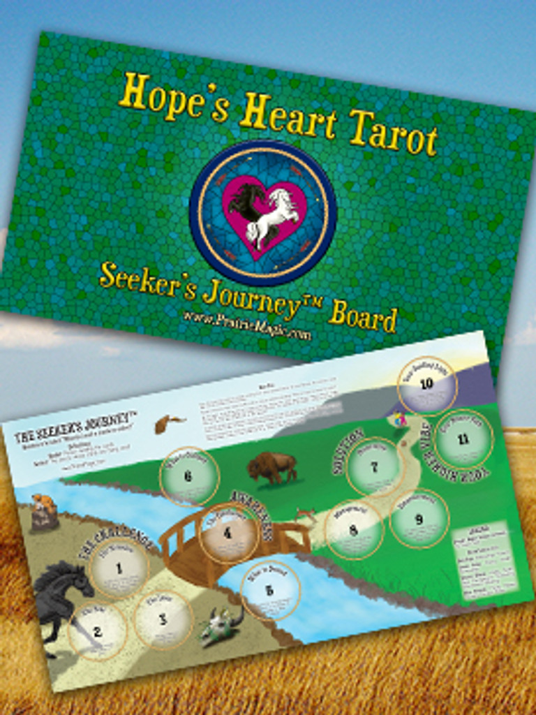 The Seeker's Journey™ Tarot Layout Board