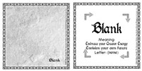 Blank Rune Card front and back Odin's Runes™