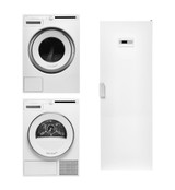 Asko W2084CW + T208CW + DC7774V Laundry Package