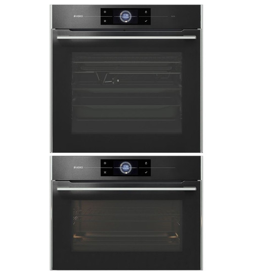 Asko OCS8678G  Pure Steam Oven + OCM8478G Combi Microwave Oven Package