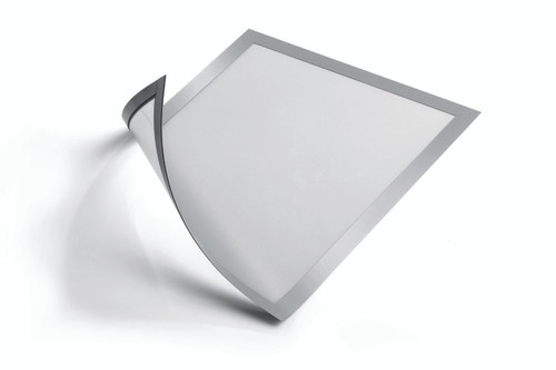 """DURAFRAME Magnetic, Letter (8-1/2"""" x 11""""), Silver - 2 pack"""