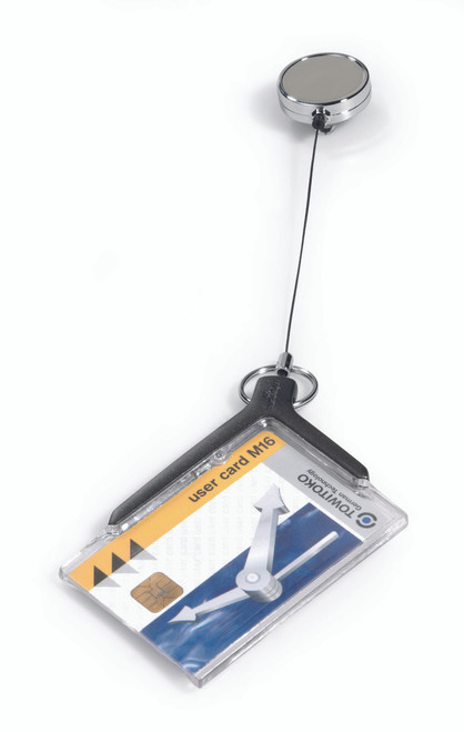 Card Holder Deluxe Pro with Badge Reel - 10 box