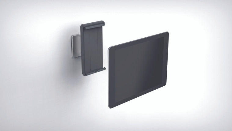 "Tablet Holder Wall Mount (Fits 7-13"" Tablets)"