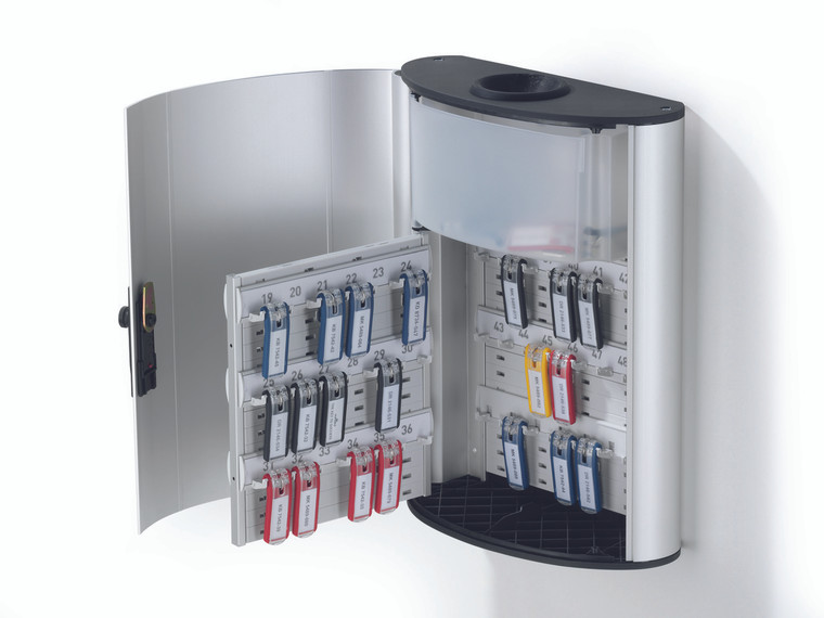 Key Box Plus for 54 Key Tags with Drop Box, Combination Lock