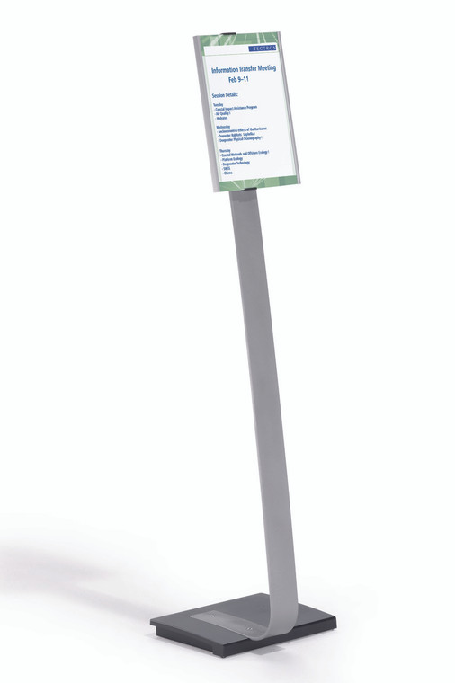 INFOBASE Duo Letter Size Floor Stand