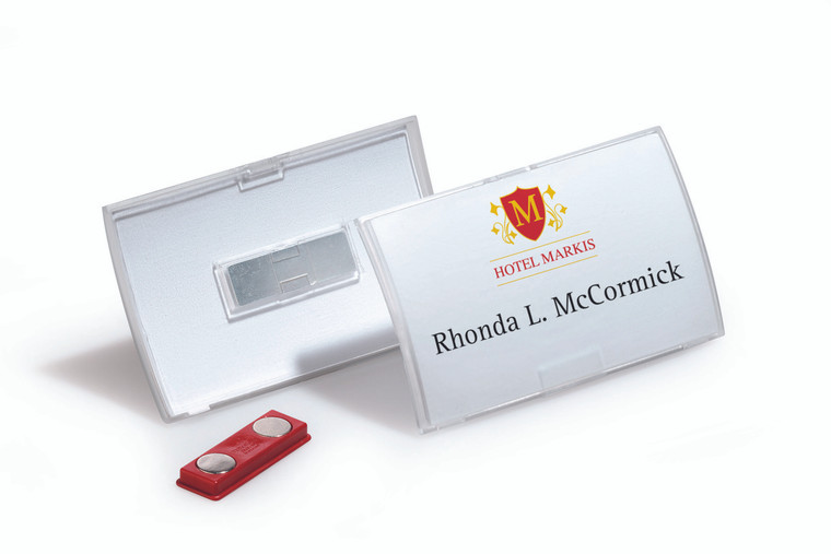 Click Fold Name Badge with Magnet - 10 box